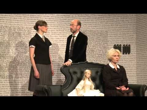 Eugène Ionesco: INŠTRUKCIJA, komična drama za mladino in odrasle, Lutkovno gledališče Ljubljana - YouTube