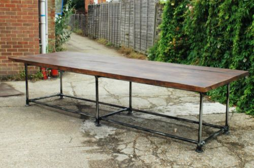 Large-10ft-Scaffold-Dining-Board-Room-Table-Made-to-Order-Any-Size-available