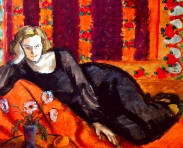 Theodor Pallady - Femeie în negru