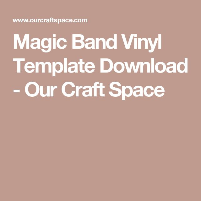 magic band vinyl template download 1 0 magic bands. Black Bedroom Furniture Sets. Home Design Ideas