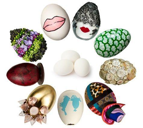 Vogue Designer Eggs