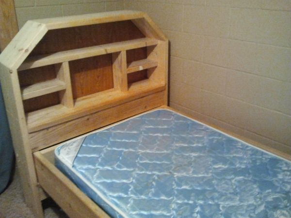 Homemade Bed Frames for Your House: homemade bed frames 2012