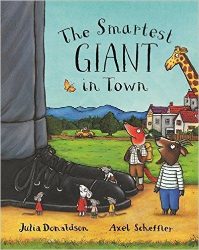 Book of the week! The Smartest Giant in Town!