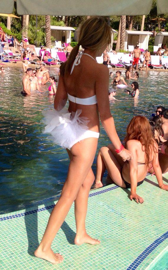 Clip on Bridal Booty Veil or Bikini veil clips by KayJamesBoutique
