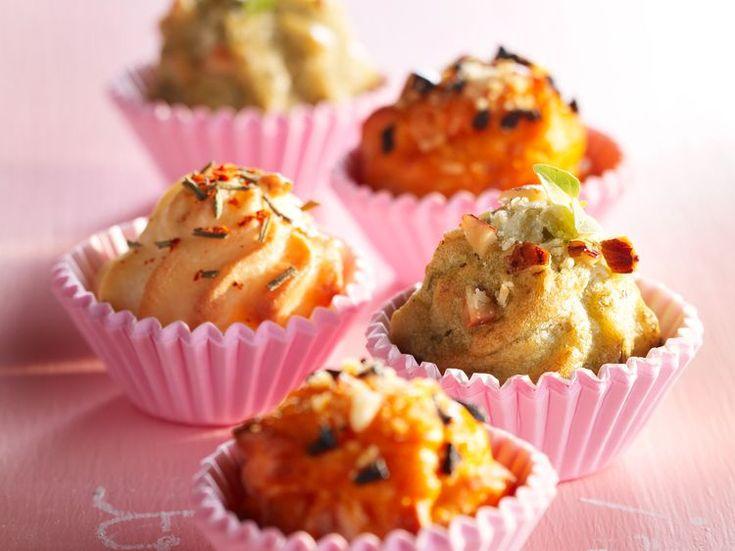 Découvrez la recette Chouquettes salées sur cuisineactuelle.fr.