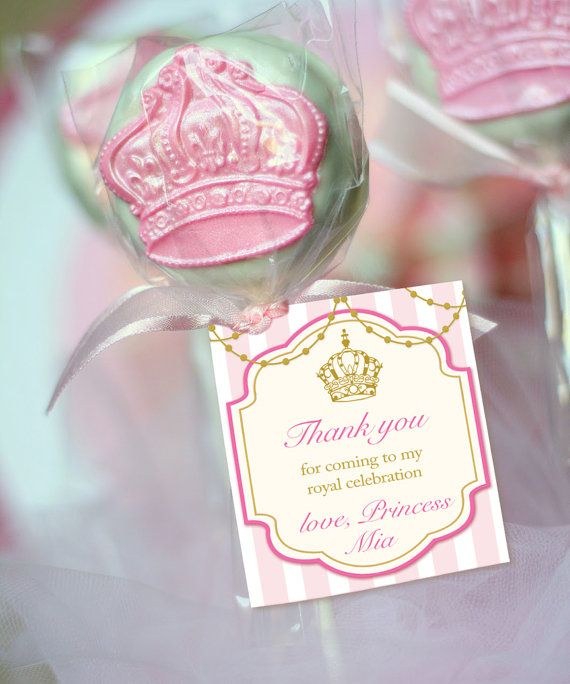 Personalized Tags For Cake Pops