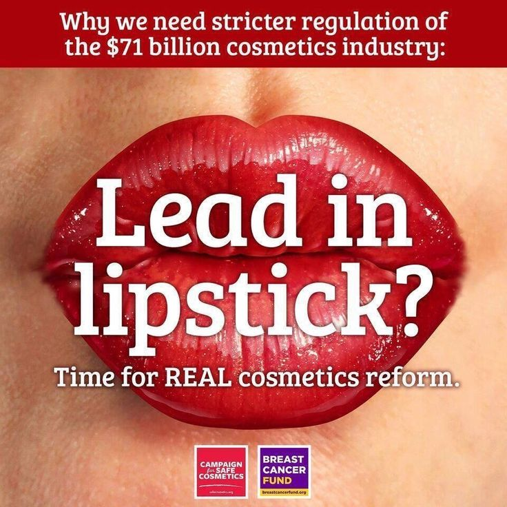 Lead in lipstick was presumed an urban legend until 2007, when we released the report A Poison Kiss, with the results from an independent laboratory that tested 33 popular brands of lipsticks for lead content. See more at:  ACT NOW if you agree: It's time for meaningful reform of our cosmetic laws. https://secure3.convio.net/bcf/site/Advocacy;jsessionid=6B613CC513D3035FFC1F5DD6D6EA5588.app313b?cmd=display&page=UserAction&id=320 #RethinkThePink #lead #lipstick #safecosmetics