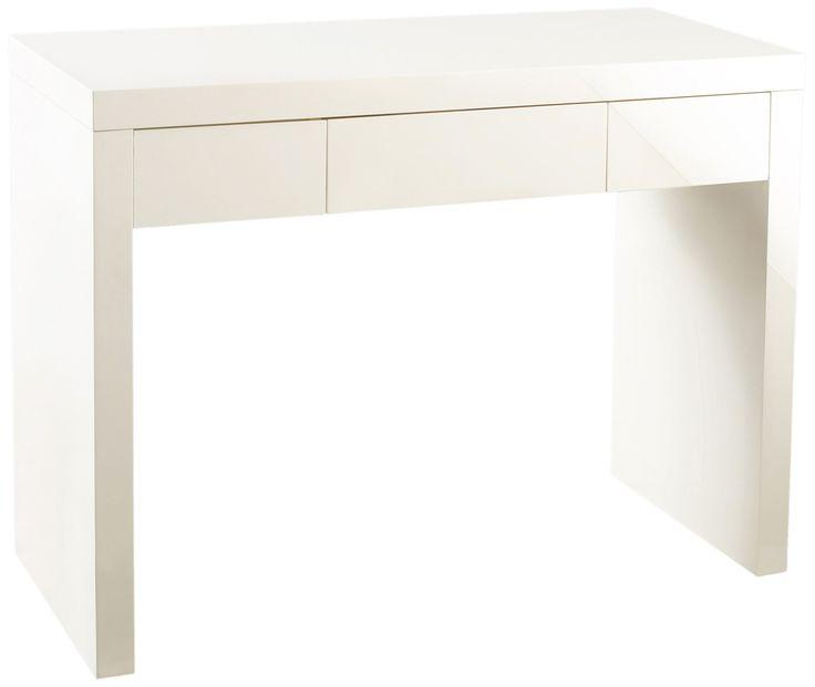 Puro coiffeuse bureau 1 tiroir cr me home pinterest for Miroir 90x70 bois