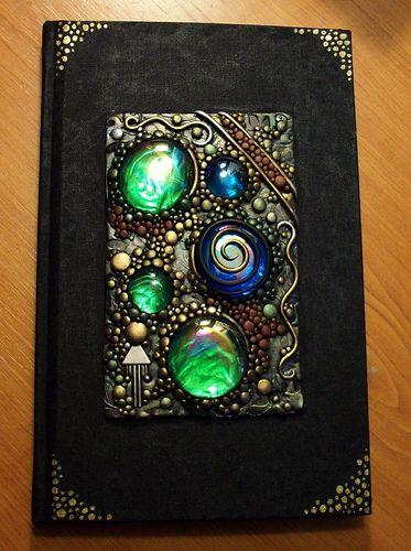 Mirrored gems blank journal | Hand painted blank book decora… | Flickr