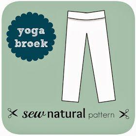 Sew Natural Blog: Patroon Variatie - Maak een Yoga Broek met je Legging op Maat NaaiPatroon