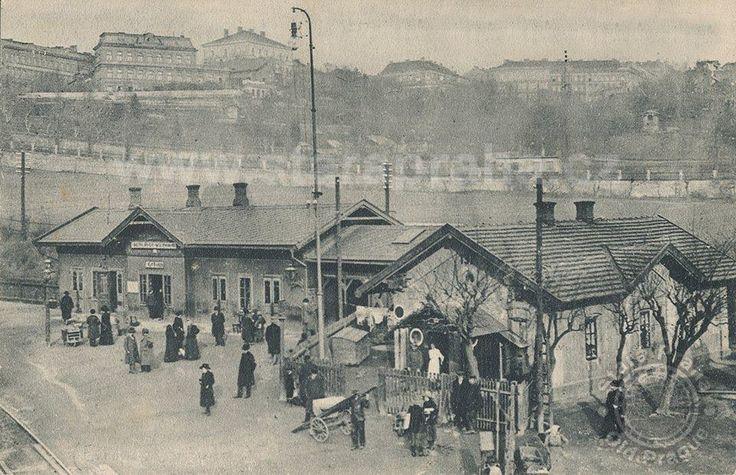 Nádraží Vyšehrad, 1928