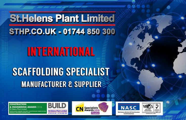 Need UK quality and safety in scaffolding solutions - overseas? St Helens Plant international scaffolding manufacturer and bespoke fabrications specialist.