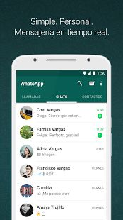 WhatsApp Messenger: miniatura de captura de pantalla