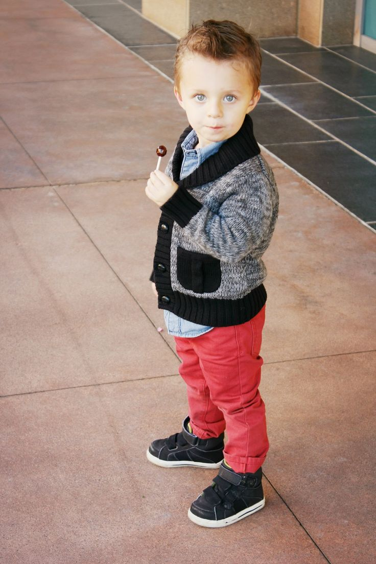 1 Denim Shirt // 5 ways | Fashonn (: | Kids fashion, Baby ...