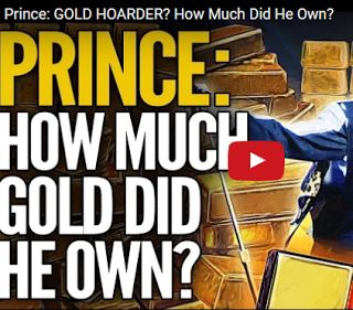 gold silver around the world: Prince: Gold Hoarder? How Much Did He Own?