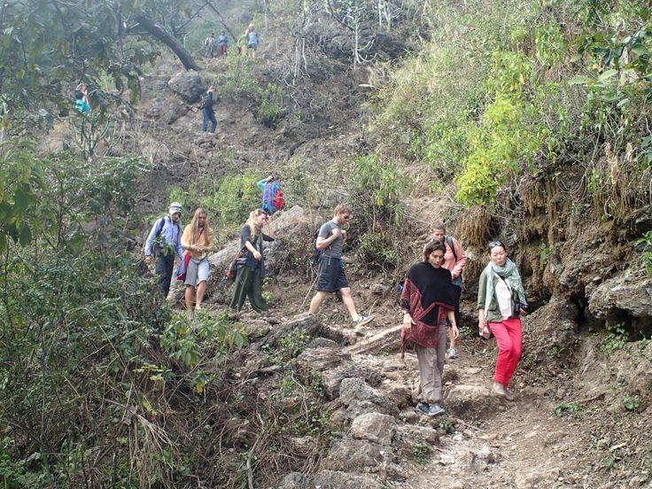 Hiking in Rishikesh, India