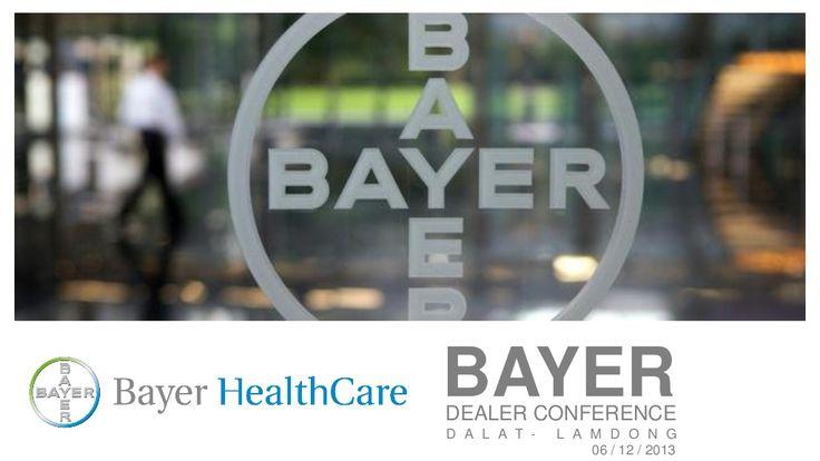 Event Proposal - Bayer Dealer Conference 2013 by SonTranEventSpecialist via slideshare