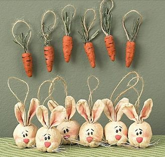 Easter Ornaments By Rustic Country Via Flickr