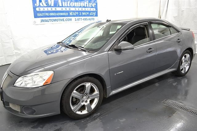 Grey 2009 Pontiac G6 4d Sedan GXP (2009.5) Naugatuck Connecticut $9995