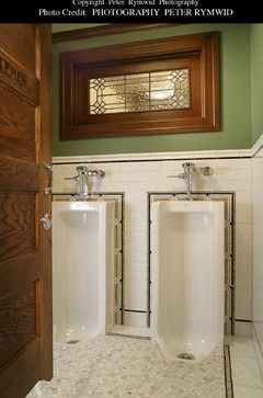 Residential Urinal Design Ideas, Pictures, Remodel, and Decor - page 3