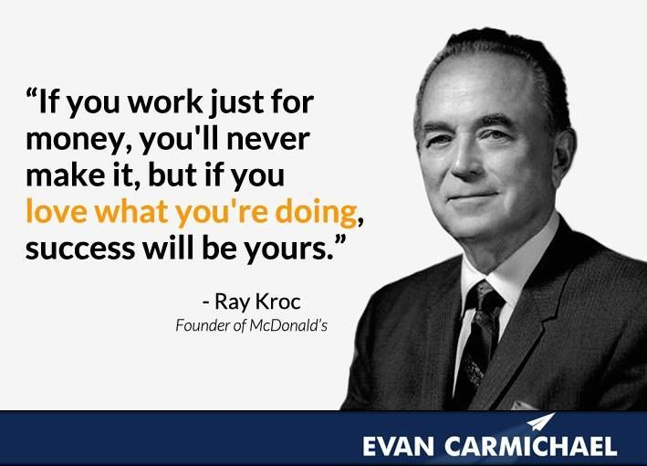 Image result for ray kroc quotes