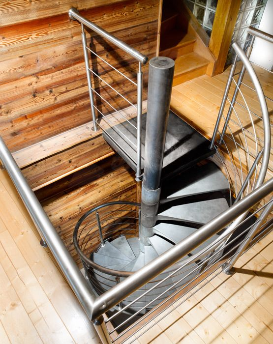 Bh1 spir 39 d co b ton en ductal arriv e escalier for Fabrication escalier beton interieur
