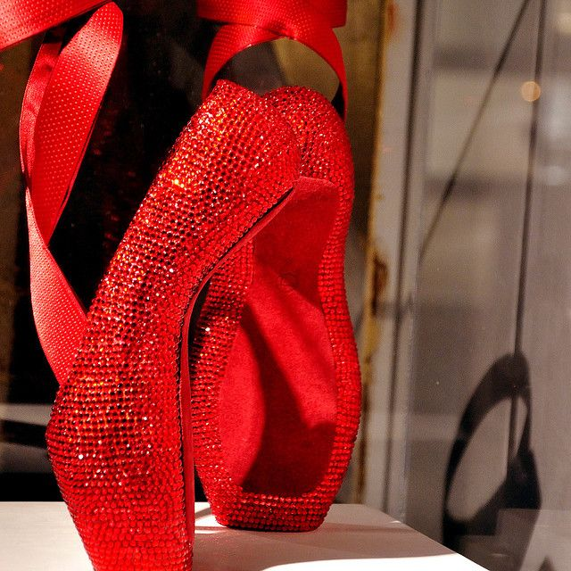 Pointe shoes worthy of Dorothy #wizardofoz