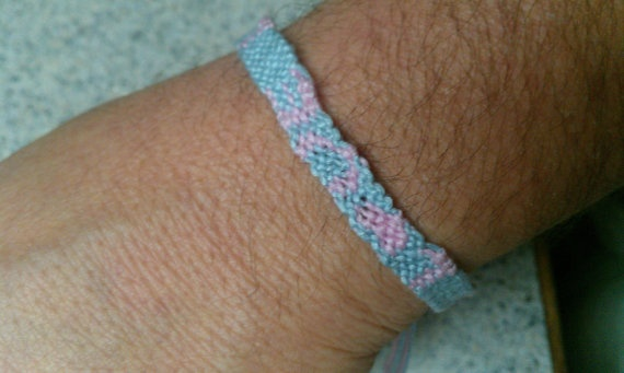 Love Friendship Bracelet by SaxophoneChick on Etsy, $4.50