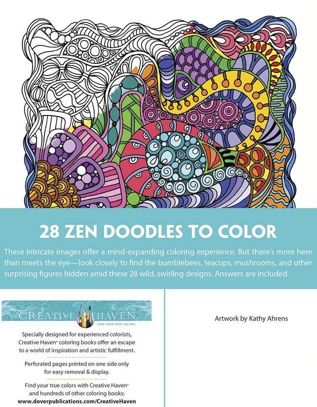 Creative Haven Dream Doodles Samples Dover Publishing