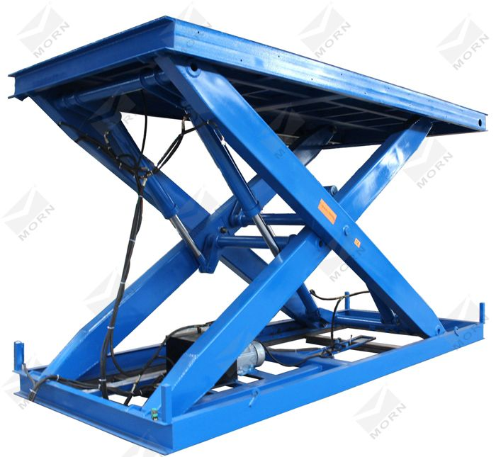 MORN car scissor lift, used for car storage at home garage. Stable electro-hydraulic system, can be operate at any level needed. Just free to contact us to provide you the best lifting solution.  mf@sinicmech.com (http://www.sinolifter.com/stationary-scissor-lift/5t-car-lift-for-home-garage.html)