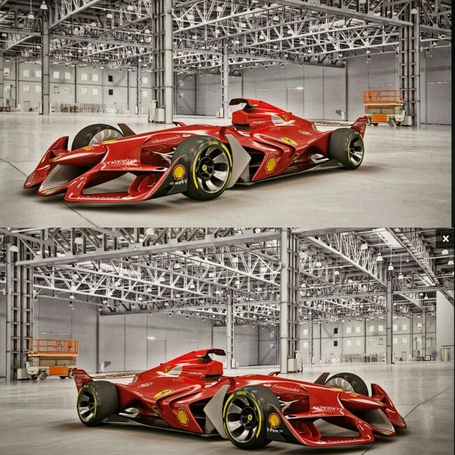 This The Future Of #Formula1 #Ferrari #F1 #concept #car