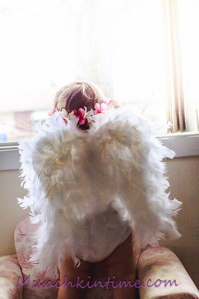 DIY: Kids Angel Wings