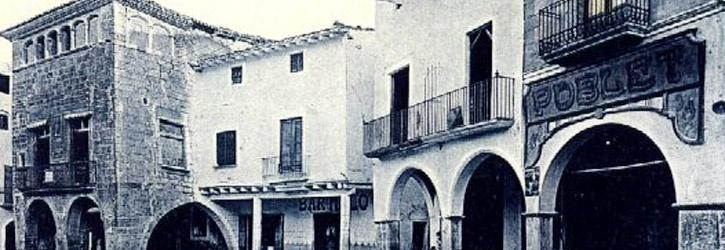 Plaça Major de Montblanc