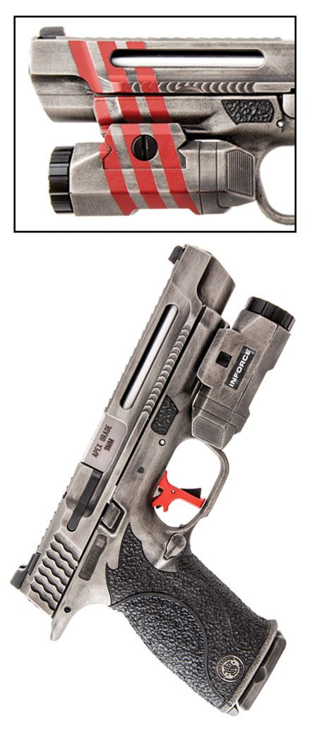 Shot Show 2016 Dream Gun® M&P Apex Handgun Pistol Custom Gun