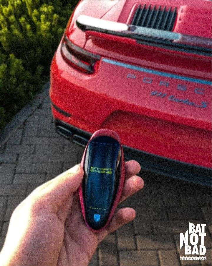 Bat Not Bad Car Key Prototype Concept Designer Digital Super Cars