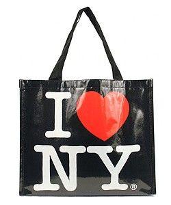 I Love NY Eco Friendly Tote Bag Wedding Gift