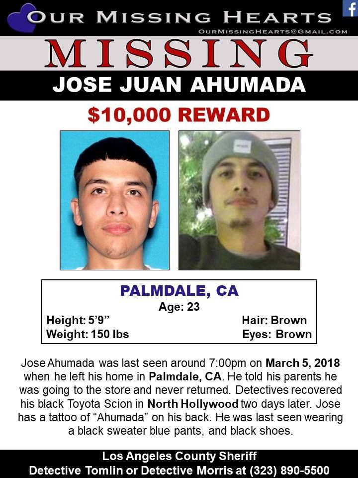 Find Missing Jose Juan Ahumada! | Crime Victims | Missing