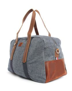 Sac 48H Cuir et Denim EXCLUSIVITE 5 ANS MENLOOK FAGUO