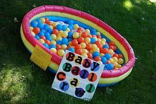 baby ball crawl