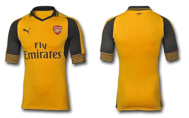 Camisas do Arsenal 2016-2017 Puma Reserva