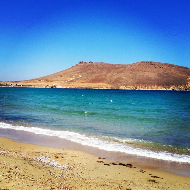 Beach in Paros