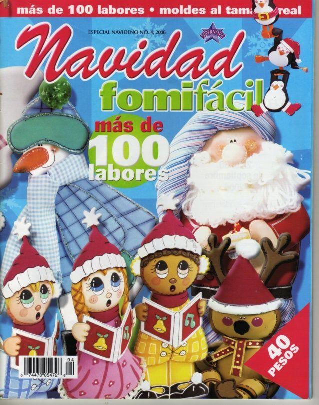 REVISTAS DE MANUALIDADES GRATIS: Fomifácil Navidad