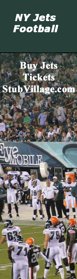 NY Jets Tickets for ALL Games on for Sale - Use Our PROMO Code = BWAY10 for 10% OFF all tickets http://tickets.metrony.com/