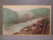 CDV Elbe Schreckenstein Ferdinandshöhe Photo 1872 Leitmeritz Litoměřice