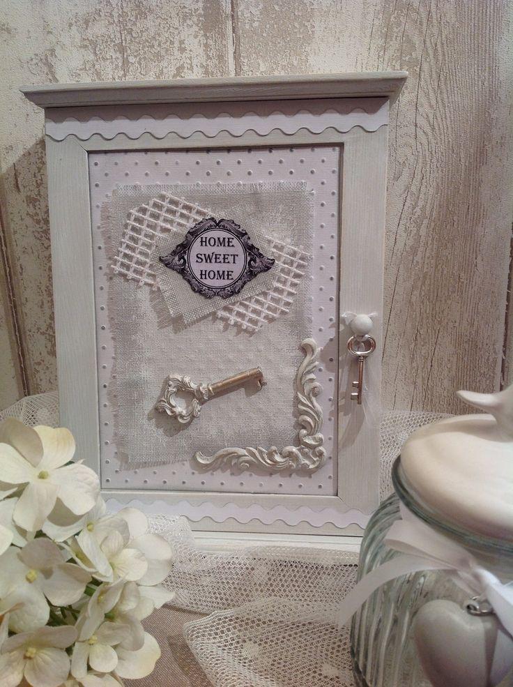Decoration Boite Scrap Shabby