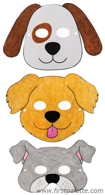 Best 25 dog mask ideas on pinterest animal masks mask for Dog mask template for kids