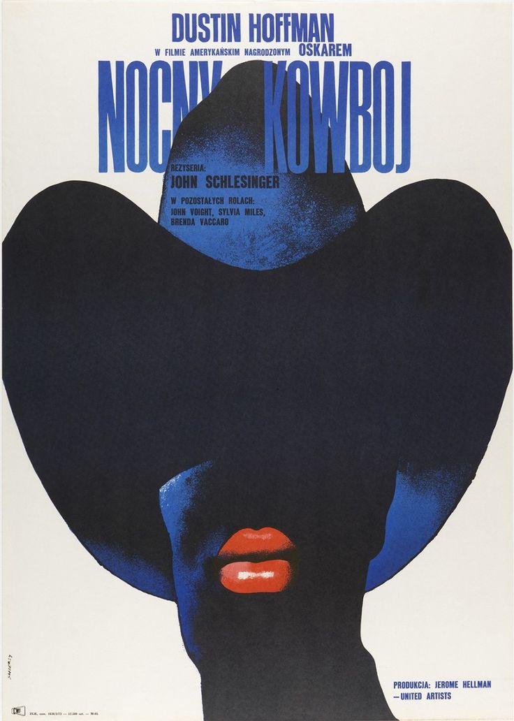 Waldemar Swierzy (Polish, 1931–2013). Nocny Kowboj [Midnight Cowboy], 1973