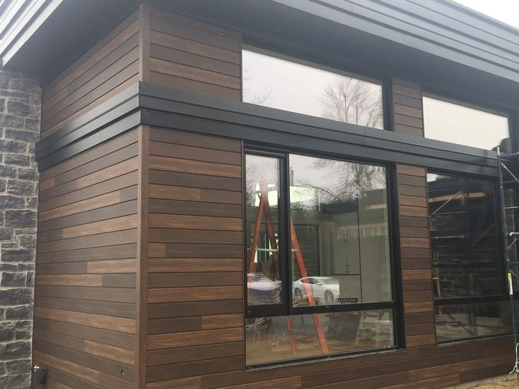 9 Best Distinction Wood Grain Siding Images On Pinterest Within Vertical Wood Siding Steel Siding Exterior Remodel