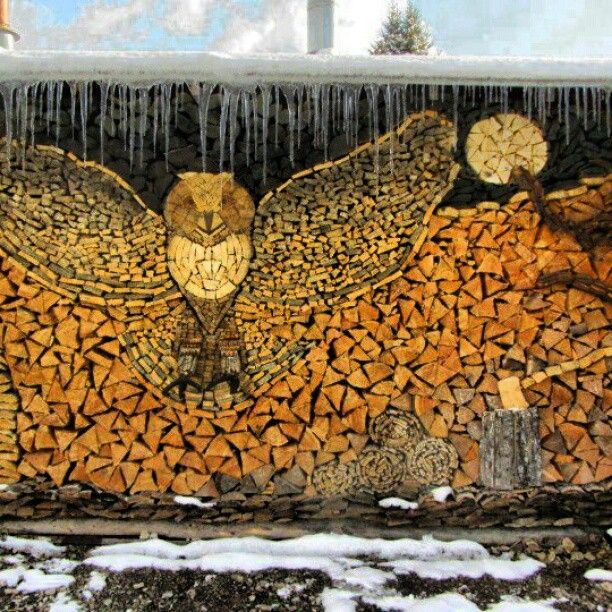 17 Best Images About Woodpile Art On Pinterest Creative