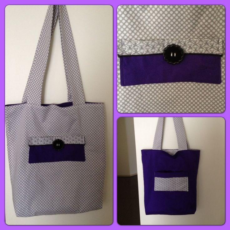 Tote Bag for Miss 12 made by me :)